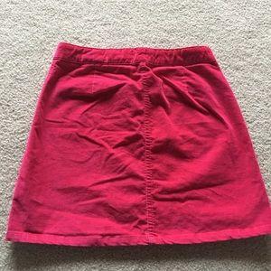 GAP Bottoms - Girls Pink button up skirt